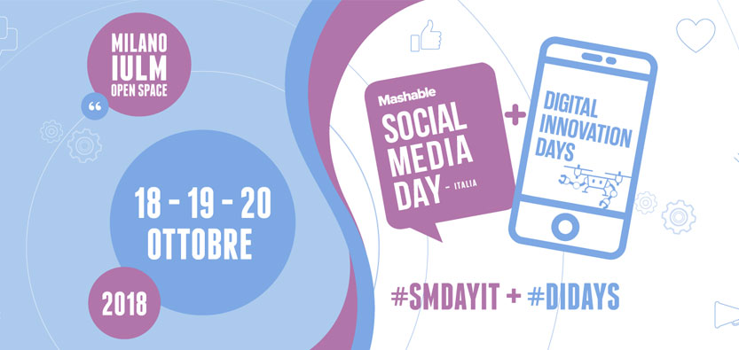 Save the Date – 19/10: Guido Di Fraia a Mashable Social Media Day & Digital Innovaton Days